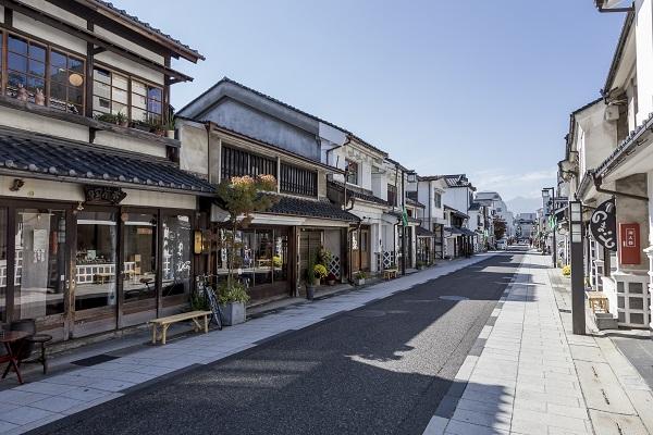 松本市の中町の風景